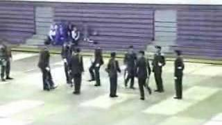 Antioch High School JROTC Drill Team Competition 2004 Part 1