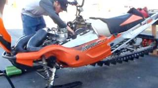 4. 1050cc watercraft triple in King Cat Chassis