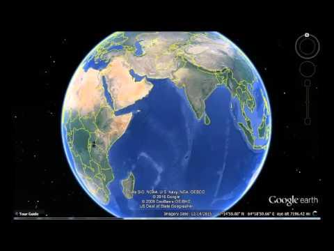 Maldives Google Earth View