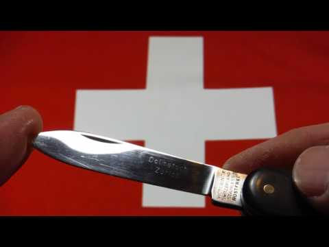 Rare Victorinox Tourist with horn scales from the 1960s