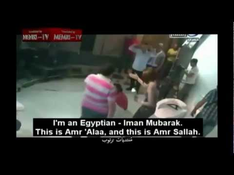 Man Slaps Female Host (Egyptian \'Israeli\' TV Prank Goes Bad)