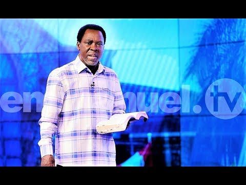 SCOAN  29/03/20: Message: WAIT UPON THE LORD By TB Joshua | Live From Emmanuel TV Studios