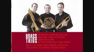 ALAN HOVHANESS: Three Fantasies for Brass Trio, Op. 70