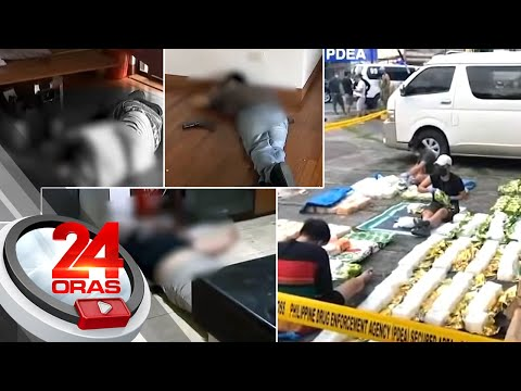 4 Chinese suspects killed, P262-million shabu seized in Angeles City buy-bust   24 Oras