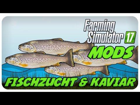 KOMPLETT NEUE WIRTSCHAFTSZWEIGE!!  Fischzucht & Kaviar Mod 💚 | LS17 Modvorstellung