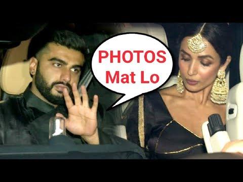Malaika Arora Khan And Arjun Kapoor TOGETHER At Diwali Party♥