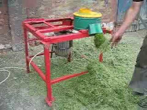 Как своими руками сделать измельчитель для травы