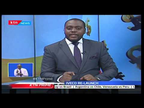 KTN Prime Business News - IVECO relaunches in Kenya - 23/3/2017