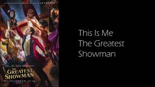 This Is Me sung by Keala Settle & The Greatest Showman Ensemble - Lyric Video