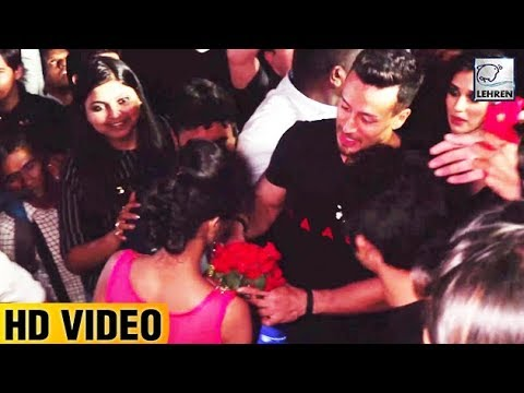 Tiger Shroff Proposed By A Female Fan In Front Of