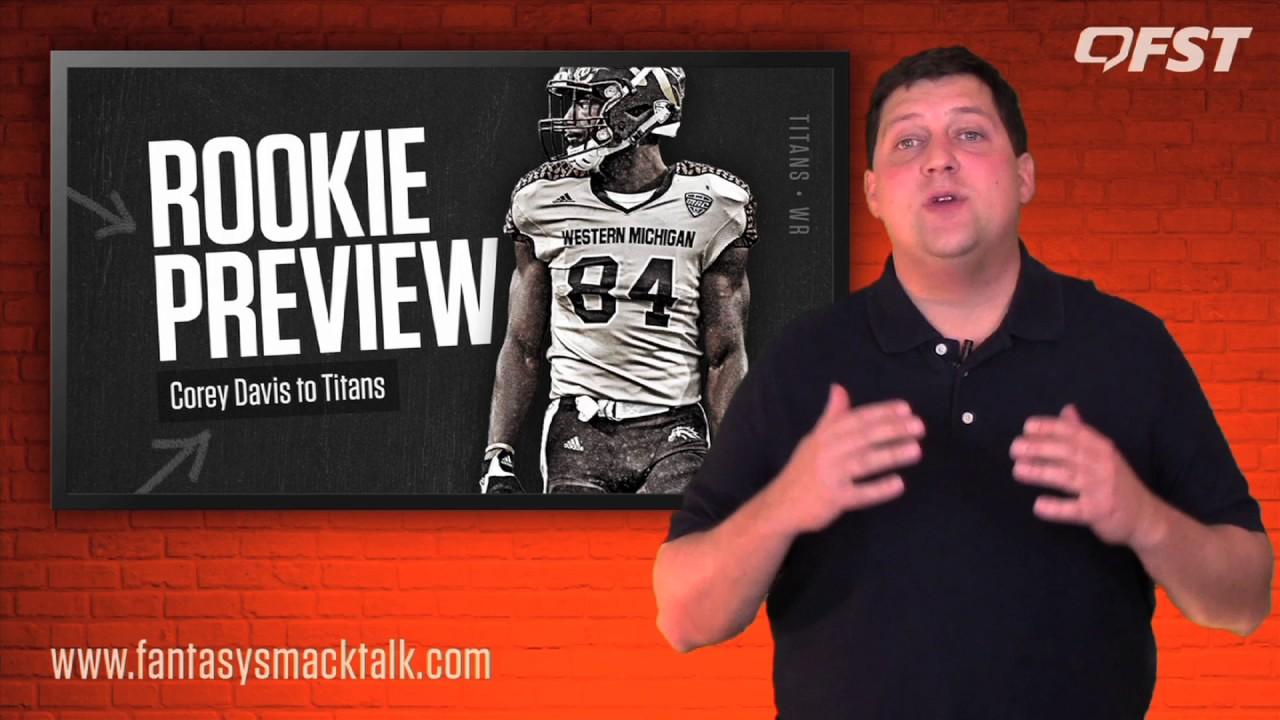 Corey Davis Rookie Preview – 2017 Fantasy Football thumbnail