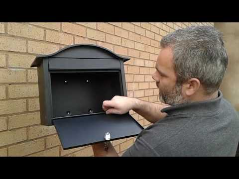 How to fit your letterbox to the wall - a guide by The House Nameplate Company