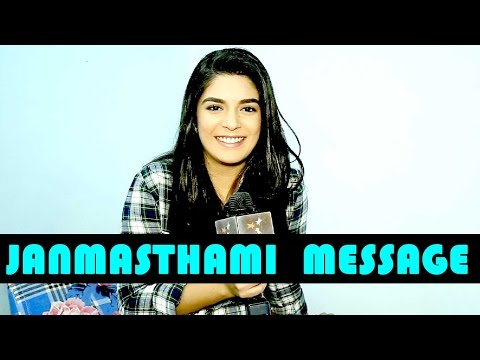 Pooja Gor's special message of Janmasthami for her