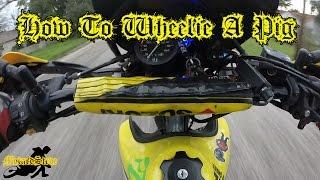 9. How To Wheelie A Suzuki DR650