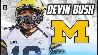 Scariest Linebacker in College Football || Devin Bush - Michigan Highlights ᴴᴰ