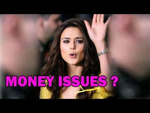 Does Preity Zinta Want Money ?