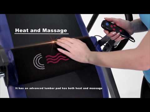 Innova Fitness ITM4800 Advanced Heat and Massage Therapeutic Inversion Therapy Table