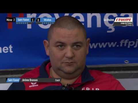 Coupe de France 2017 2ème 1/2 finale: Saint Florent vs Vitrolle Triplette