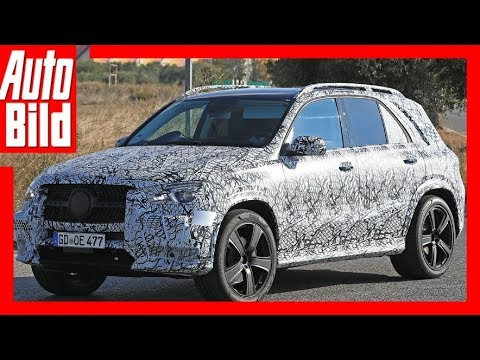 Mercedes-Benz GLE Erlkönig (2018) Details / Erkläru ...