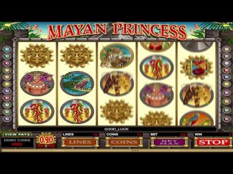 Mayan Princess  ™ free slots machine game preview by Slotozilla.com