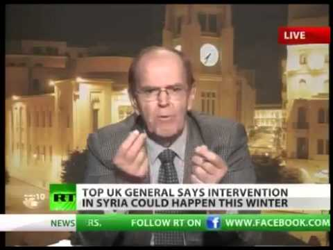 Syrian WAR UPDATE: TOP UK general PREDICTS intervention to happen by this WINTER