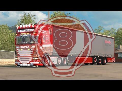 Scania V8 sound v8.0