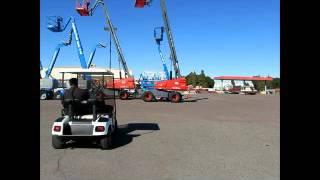 5. For Sale 2001 EZ-GO TXT 36V Electric Golf Utility Cart Canopy w/ bidadoo.com