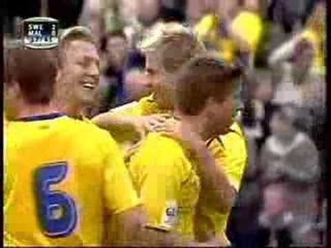 La selección de fútbol de Suecia