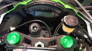 9. ZX10R 2015 30th Anniversary special Akrapovic Edition. Specs, Price, Weight, Bhp/Nm, walk around