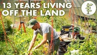 Video 13 Years Living Off the Land - Man Shares REAL Homestead Experience MP3, 3GP, MP4, WEBM, AVI, FLV September 2018