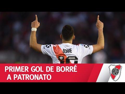 Desborde de Suárez y definición de Borré - River 2 - Patronato 0