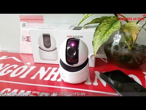 Video hướng dẫn cài đặt camera wifi HIkvision DS-2CV2Q01EFD-IW