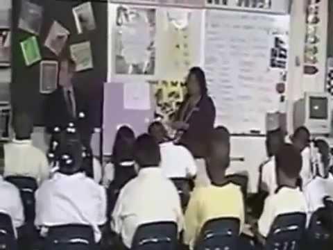 shock 11 settembre: rituale esoterico con i bambini a scuola con bush