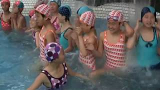 This is a Propaganda Video produced by the North Korean government, advertising their Songdown Children's Camp