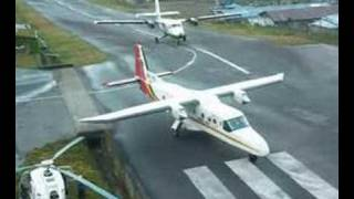 One of the busy airports in the world! Landing and Take-off at Lukla are very interesting and exciting!!! 世界最危險機場第一位.