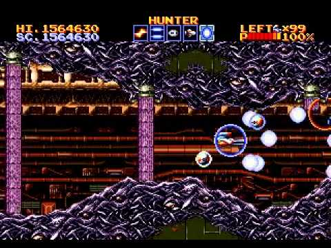 thunder force 4 megadrive