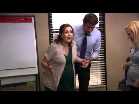 The Office US S08E08 Pregnant Belly