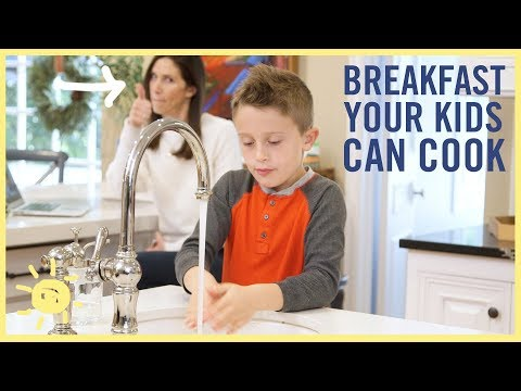 EAT | 3 Breakfasts Your Kids Can Cook Themselves