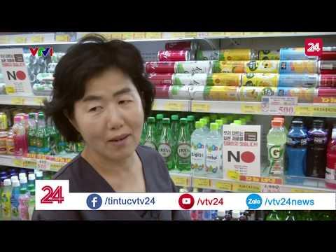 Làn sóng tẩy chay hàng Nhật tại Hàn Quốc | VTV24