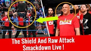Nonton Raw  The Shield  Attacks Smackdown Live Wwe Smackdown 11 14 2017 Highlightshd Film Subtitle Indonesia Streaming Movie Download