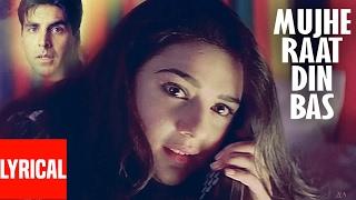 """Video """"Mujhe Raat Din Bas"""" Lyrical Video   Sangharsh   Sonu Nigam   Akshay Kumar, Priety Zinta, Aman Verma MP3, 3GP, MP4, WEBM, AVI, FLV Agustus 2018"""