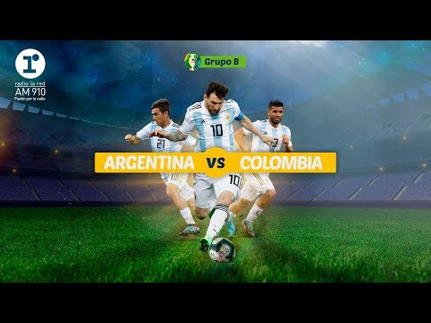 [EN VIVO] Argentina vs. Colombia - Copa América [ Radio La Red ]
