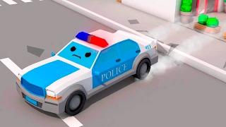 Video La Voiture de police Bleu et - Dessin animé français - Drôles Voitures MP3, 3GP, MP4, WEBM, AVI, FLV Desember 2018