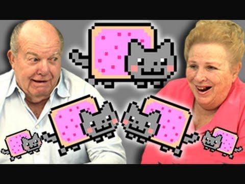 Elders React To Nyan Cat