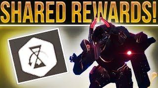Destiny 2 News. SHARED REWARDS!