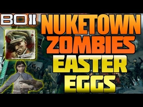 "BO2 - ""Diamond Camo C4 Glitch / Easter Egg on Nuketown"" Black Ops 2"