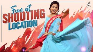 Fun at Shooting Location || Lasya Manjunath New Video||