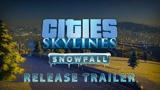 Видео Cities: Skylines - Snowfall