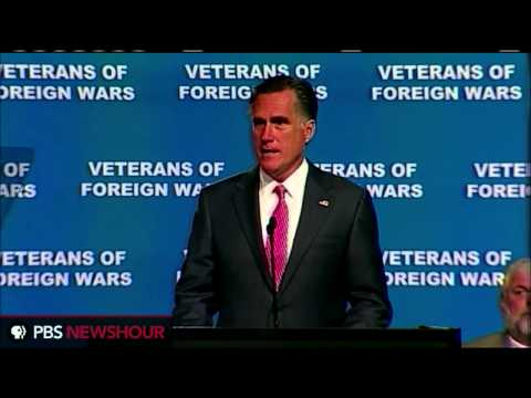 Watch Mitt Romney's Full Speech at Veterans of Foreign Wars Convention