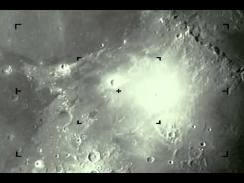 Yikes! A Meteor Hits the Moon And You Can See the Impact